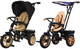 Icon 3-х кол. велосипед RT ICON elite NEW Stroller by Natali Prigaro Gold (золотой)