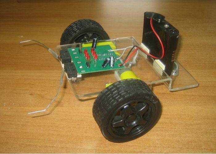 Мини-роботы из электронных деталей своими руками 93