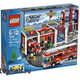 Lego City 7208 Fire Station (Пожарное Депо) 2010