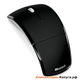 (ZJA-00010) Мышь Microsoft Wireless Laser Arc Mouse USB Black Retail