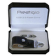 Флешка PRESTIGIO Leather Flash Drive NAND Flash Leather case, Black 8Gb (PLD8192SIBLACK)