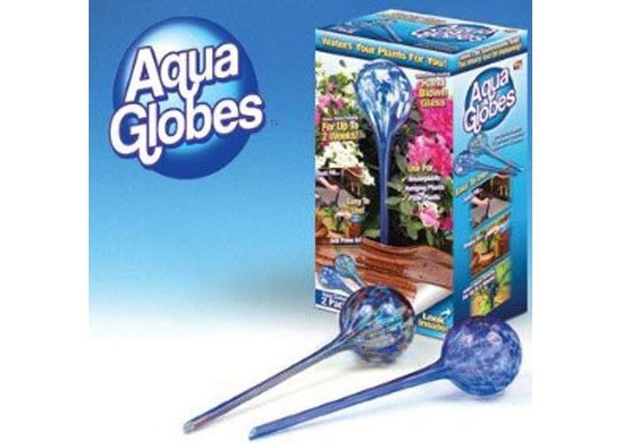Обзор о колбах для автоматического полива цветов Aqua Globes