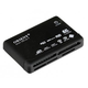 Card reader ORIENT CR-02BR   SDHC READY, USB 2.0 Black (Retail) Ext.