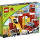 Lego Duplo 6168 Fire Station (Пожарная Станция) 2012