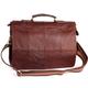 заказать Мужская кожаная сумка 2048 коричневая онлайн в интернет магазине Green-Bag с доставкой в Москве...