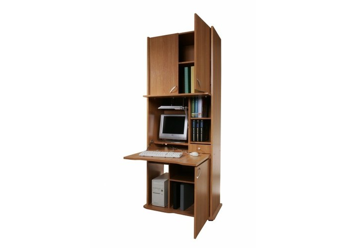 Секретер ск-001 с местом для компьютера купить недорого в мо.