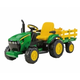 Электромобиль Peg Perego OR-0047 JD Ground Force w trailer