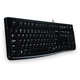 Logitech Logitech Keyboard K120 Black USB